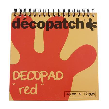 Bloc Color Décopad - Rouge