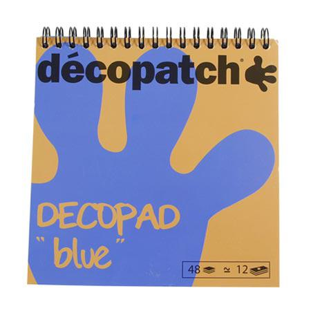 Bloc Color Décopad - Bleu