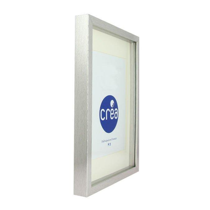 Vitrine Carla 3D - 40x40 cm - Blanc