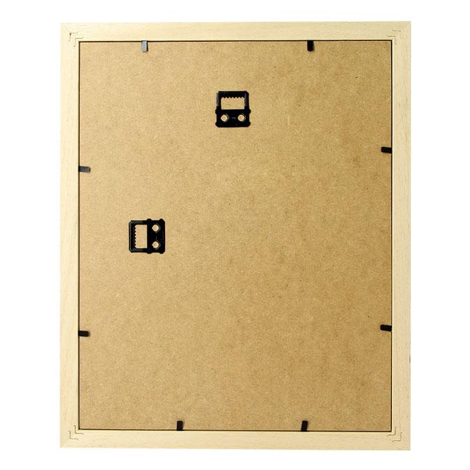 Cadre Vitrine XXL brut - 20 x 20 cm