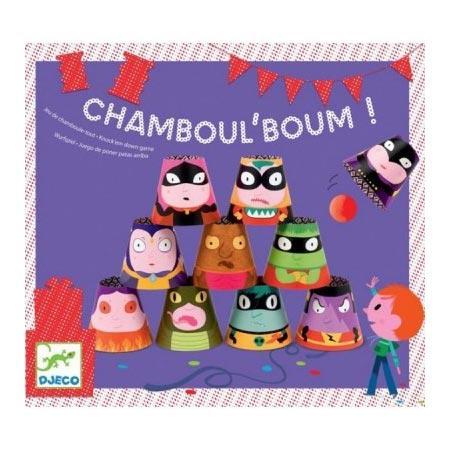Chamboul'boum - Jeu de Chamboule-tout