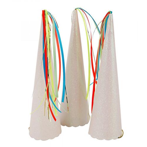 Chapeau festif - Corne de licorne - 8 pcs
