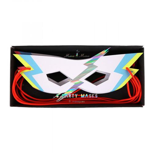 Masques de superhéros - 8 pcs