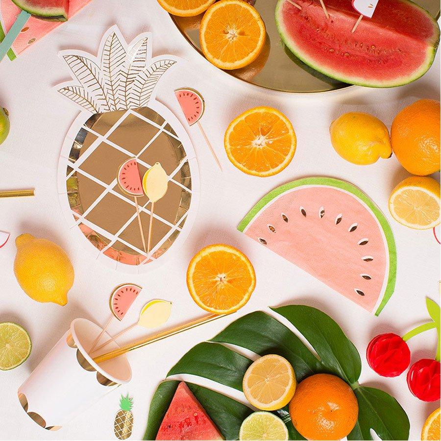 Pics à brochettes - Fruits - 12 pcs