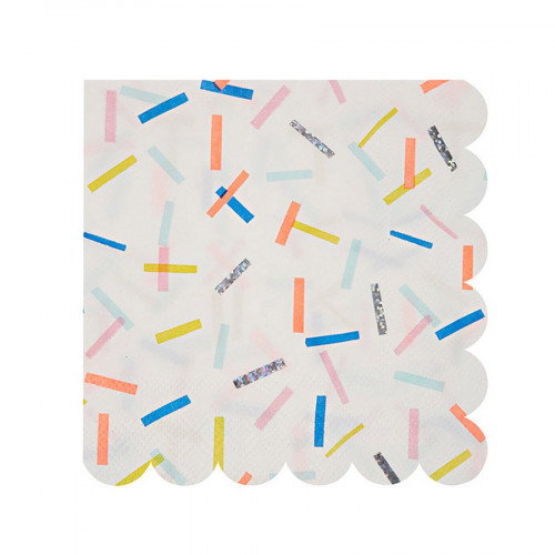 Serviettes en papier - Petit format - Sprinkles - 16 pcs