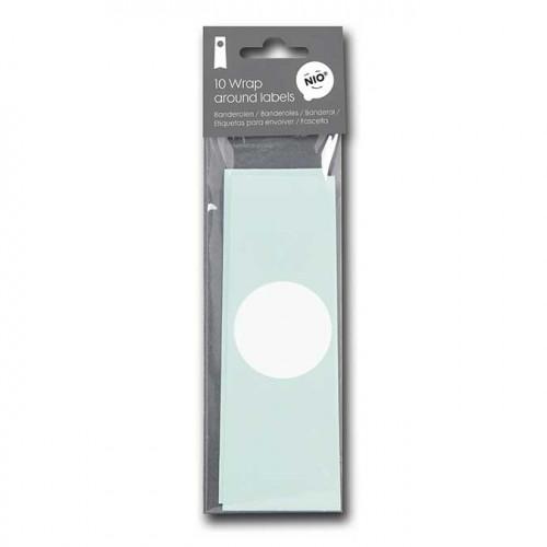 NIO mint - 10 banderoles - 31 x 5,5 cm
