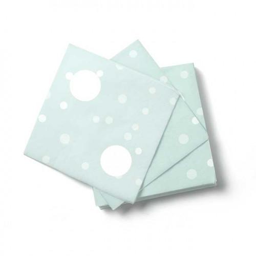 NIO mint - 16 serviettes - 16,5 x 16,5 cm