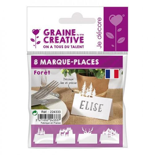 Marque-places Forêt - 8 pcs