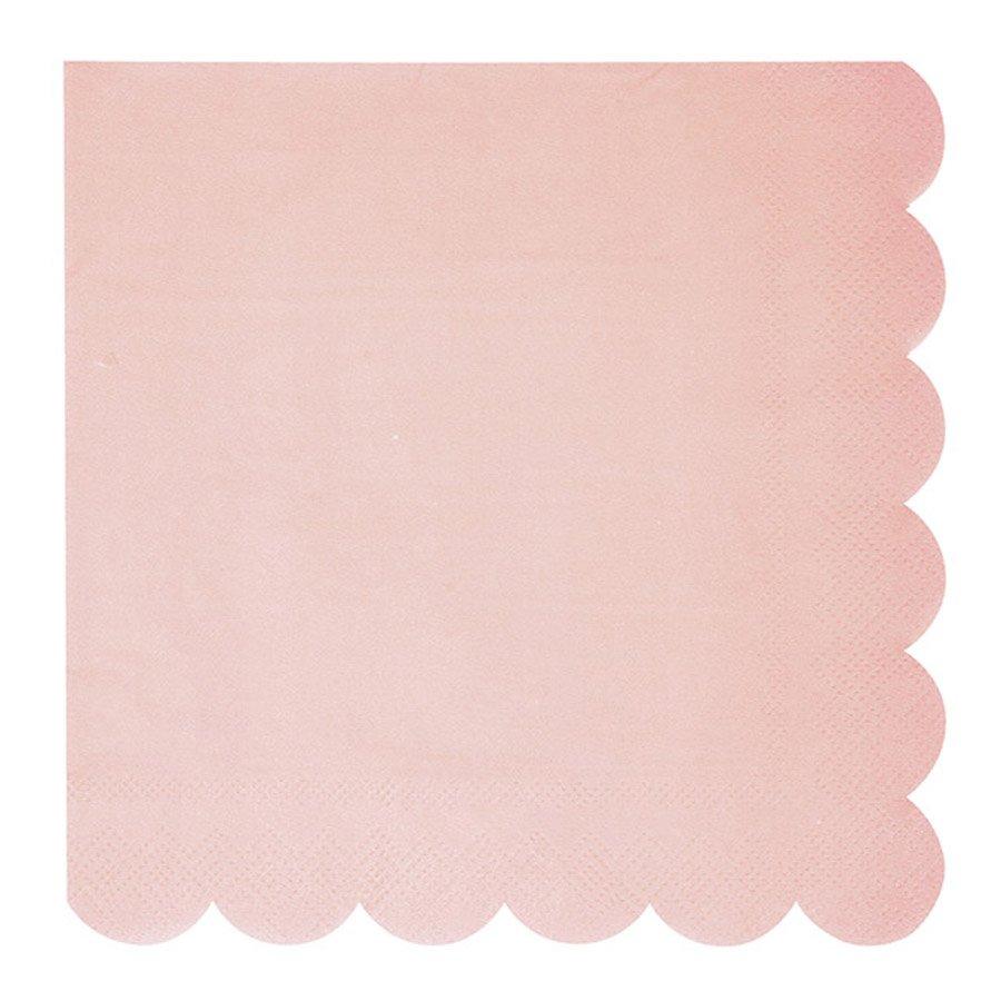 Serviettes en papier - Petit format - Pastel - 20 pcs