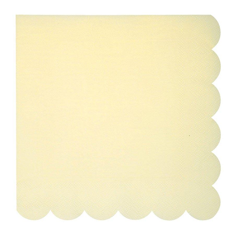 Serviettes en papier - Grand format - Pastel - 20 pcs