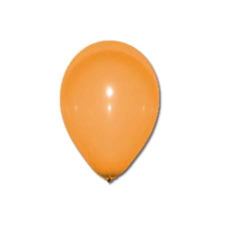 Sachet de 10 ballons - Orange