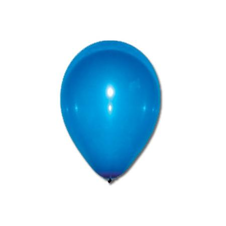 Sachet de 10 ballons - Bleu foncé