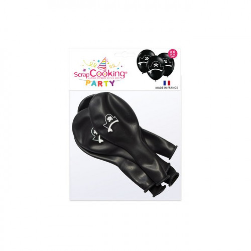 Ballons Pirate - 25 cm - 6 pcs