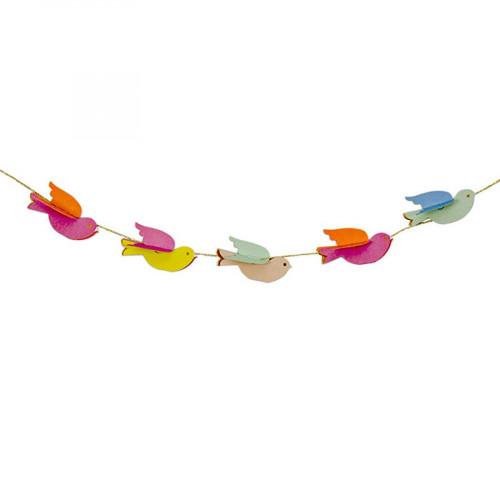 Kit guirlande - Oiseaux - 4,3 m