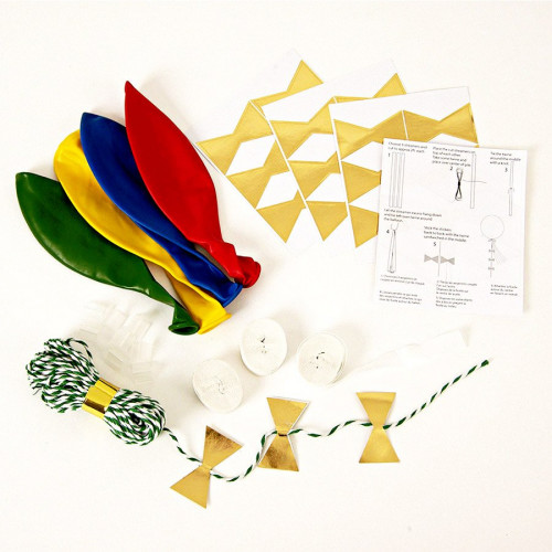 Kit ballon personnalisable - Multicolore - 8 pcs