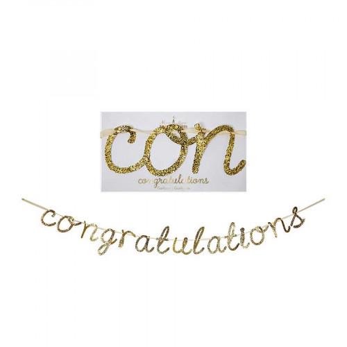 Guirlande - Congratulation - 4,3 m