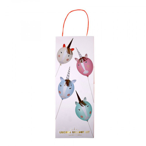 Kit ballon personnalisable - Licorne - 8 pcs