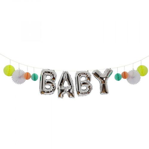 Guirlande ballons - Baby - 3,7m