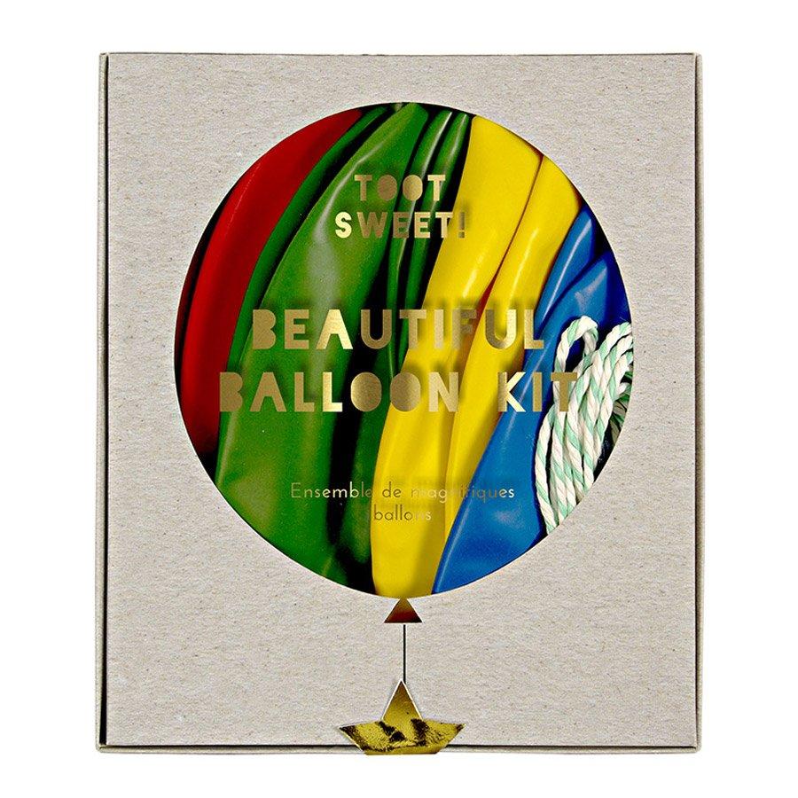 Kit ballon personnalisable - Multicolore - 8 pcs