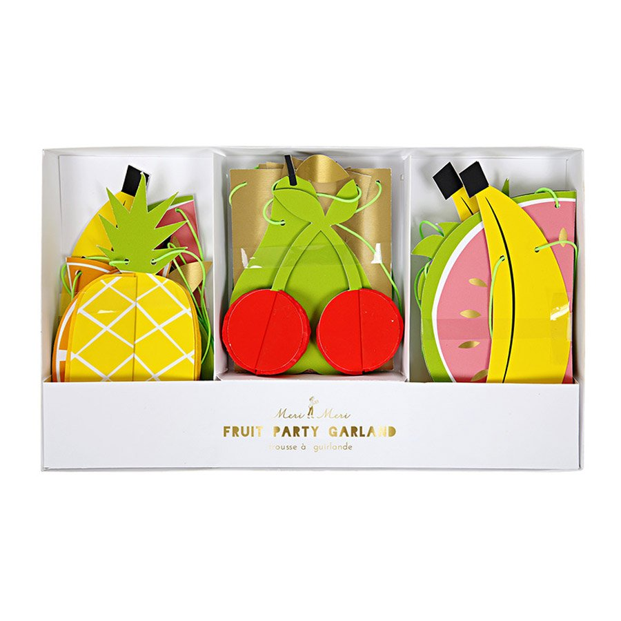 Guirlande - Fruits - 2,4m - 3 pcs