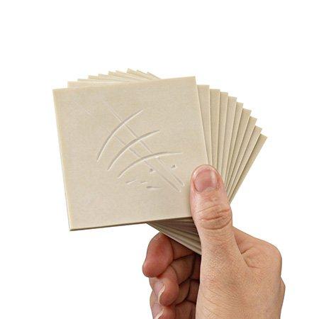Plaque de gomme à graver - 7,5 x 10 x 0,3 cm