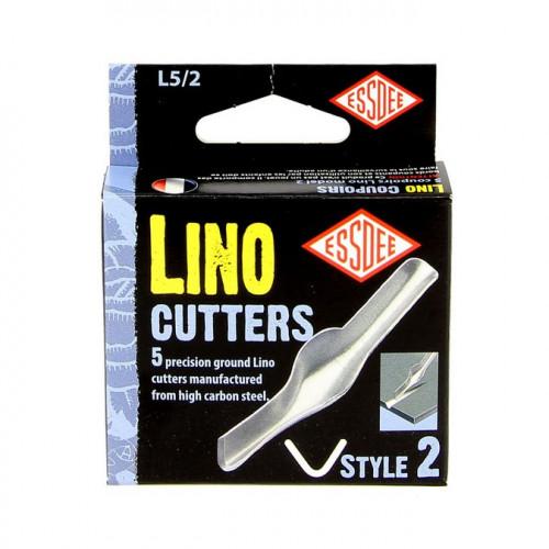 Gouge pour Linogravure N°2 - 5 pcs