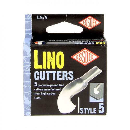 Gouge pour Linogravure N°5 - 5 pcs