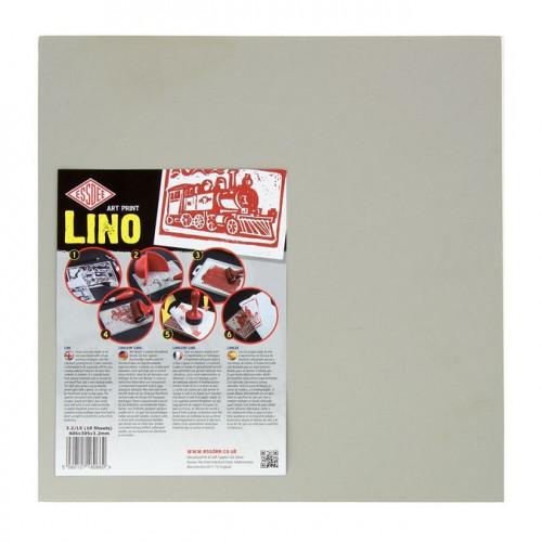 Plaque de linoléum - 30,5 x 30,5 cm