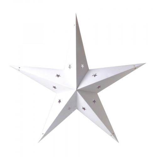 Etoile en papier - Blanc - 70 cm