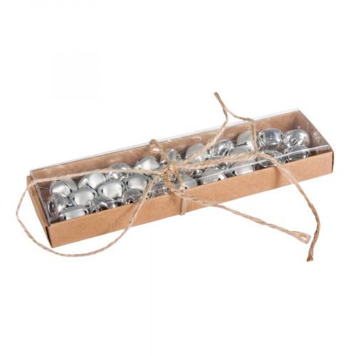 Clochettes en métal - Argent - Ø 1,5 cm