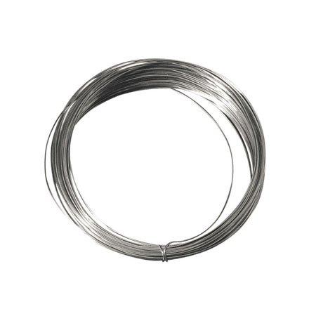 Fil de cuivre argenté - 0,8 mm x 6 m