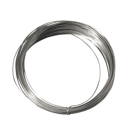 Fil de cuivre argenté - 1,2 mm x 3 m
