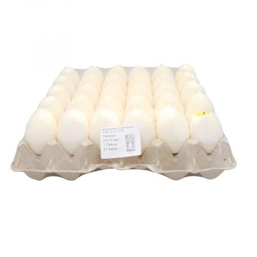Bougie œuf - Ø 4,5 x 6 cm