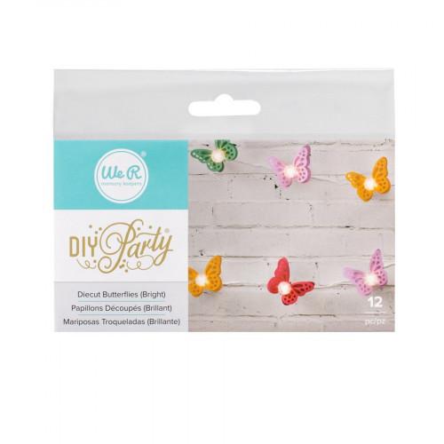 Die-Cut Butterflies - bright
