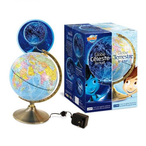 Globe Jour et Nuit - Veilleuse - 21 cm