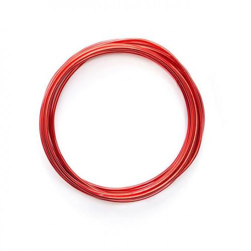 Fil métallique Happy Jig - rouge - 5,49 m