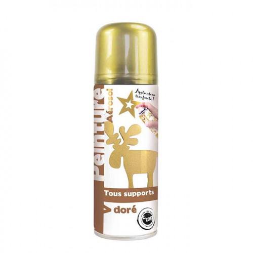 Aérosol Peinture dorée - 250 ml