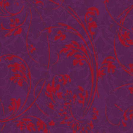 Cocktail-serviettes 25x25 - rouge, Ornement