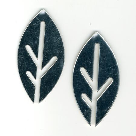 Miroir - Feuille stylisées