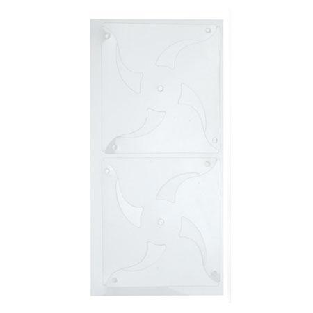 Feuille plastique prédécoupée - Transparent