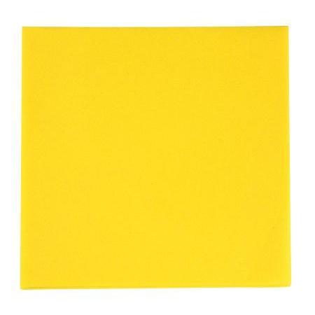 Serviettes Airlaid 40x40 - jaune soleil