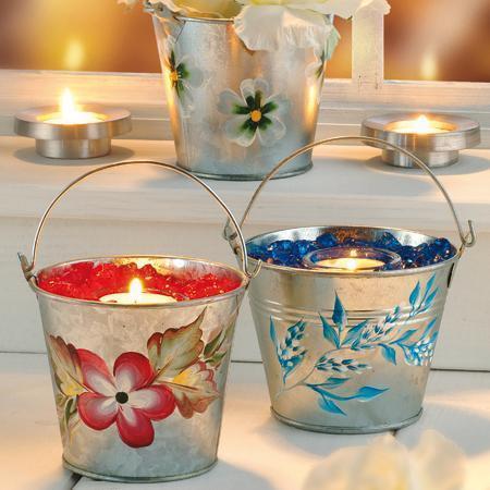 Cristaux décoratifs - Jaune transparent 4 à 10 mm