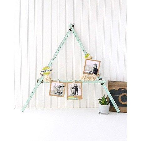 Règle pliée décorative Ruler Studio - 22,8 cm - vert