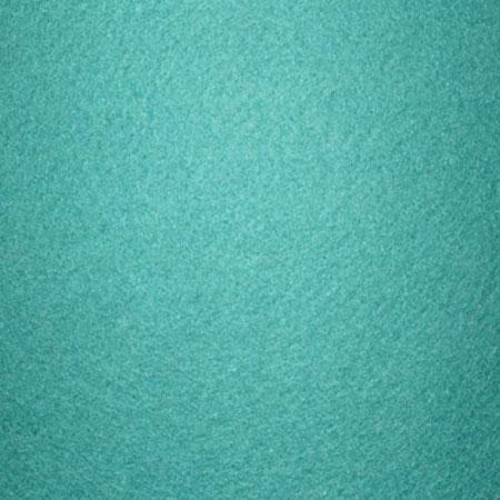 Coupon de feutrine 1 mm - Turquoise - 30 x 30 cm