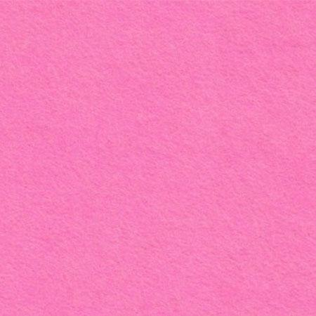 Coupon de feutrine 1 mm - Rose - 30 x 30 cm