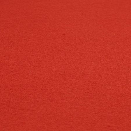 Coupon de feutrine 1 mm - Rouge - 30 x 30 cm