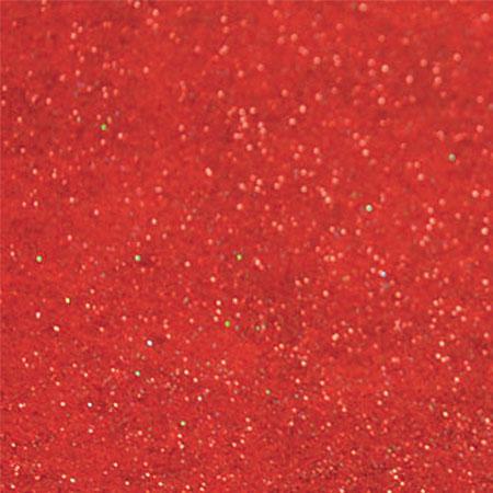 Coupon de feutrine 1 mm - Rouge pailleté - 30 x 30 cm