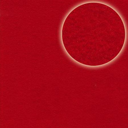 Feuille de feutre rouge - 2 mm - 30,5 x 30,5 cm