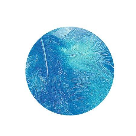 Plumes - Camaïeu bleu - 3-10 cm - 10 g