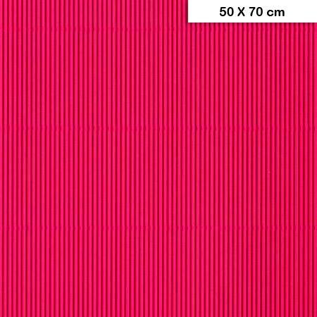 Carton ondulé mini - Cyclamen - 50 x 70 cm